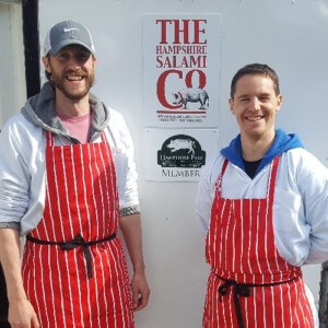 David & Paul on the Pig in a Day course - 14 May 2016